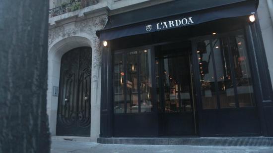 Extérieur  Picture of LArdoa, Paris  TripAdvisor