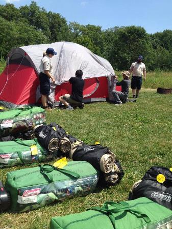 Bronte Creek Provincial Park: Learn to camp at Bronte creek.  Great way to teach the family how to camp.  Let the adventure be