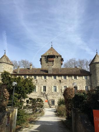 Chateau de Coudree: view from outside