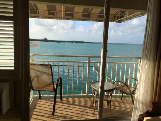 Pier House Resort & Spa : our view in beach building #318