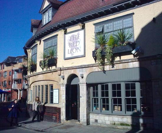 Image result for the red lion oxford