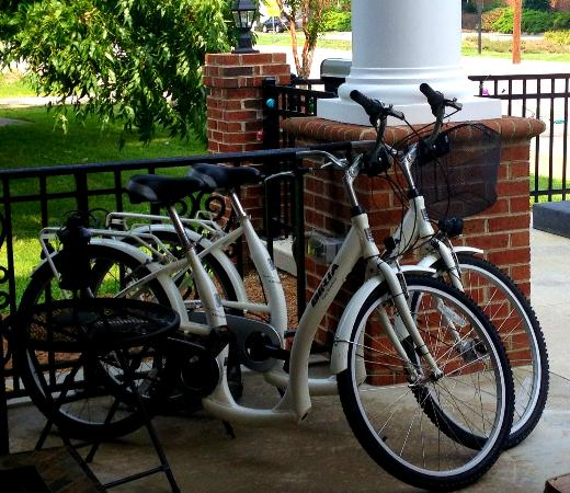The Acorn Inn of Elon: Loaner Bikes for Guests
