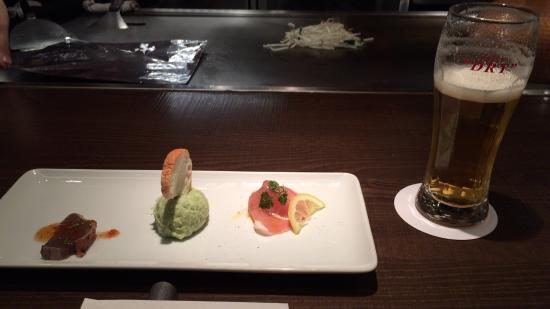 Teppanyaki & Wine en