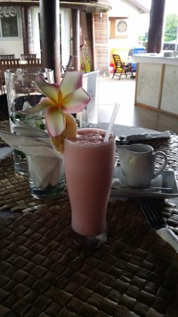 Le Manumea Hotel: Breakfast Smoothie