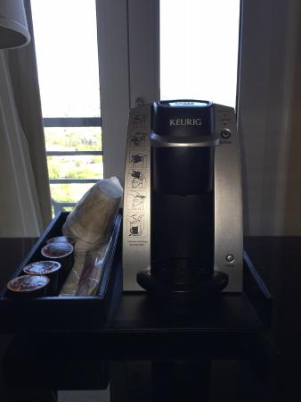 Sofitel Los Angeles at Beverly Hills: In-room Coffee maker
