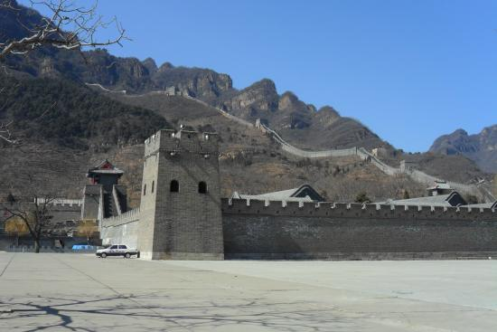 Great Wall at Huangya Pass (Huangyaguan Changcheng): Looking from the ...