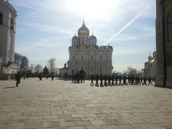 Erzengel-Michael-Kathedrale: Соборная площадь. Архангельский собор.