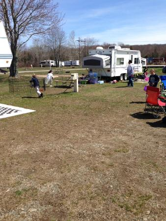 Seaport RV Resort and Campground: So much space!
