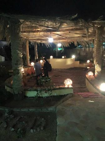 Club Red Dahab: Launge & Relaxation Area At Night