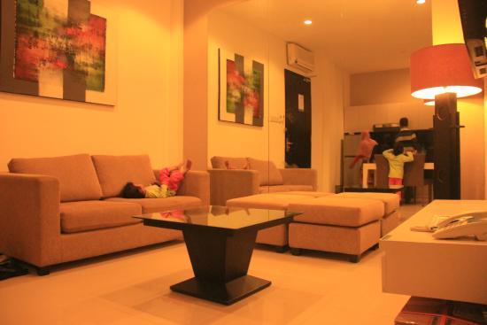 Umalas Hotel and Residence: Livingroom