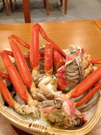 Hotel Togen: 身のぎっしり詰まった蟹