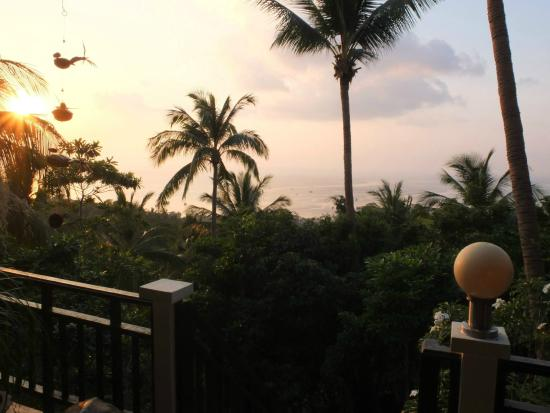 Koh Tao Star Villa: Wunderbarer Ausblick von der Terrasse