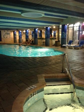 Indoor pool picture of coral beach resort suites - Indoor swimming pool myrtle beach sc ...