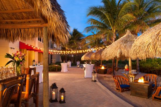 Palm Beach Marriott Singer Island Resort Spa Outside Tiki Event