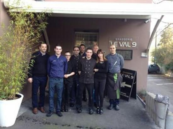 Wepion, Belgium: Equipe val 9
