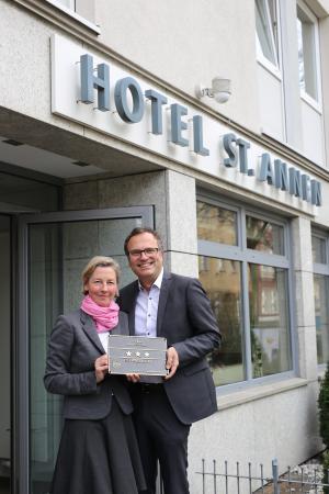 Hotel St. Annen: 3 *** Superior 17.03.2015