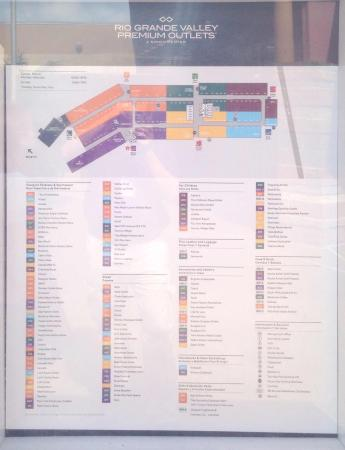 Mercedes Outlets Map Rio Grande Valley Premium Outlets (Mercedes)   2019 All You Need