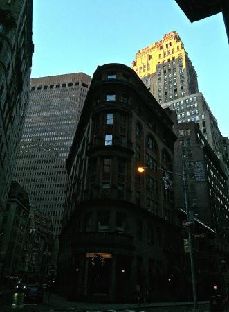 Delmonico's with The Wall Street Inn (left)