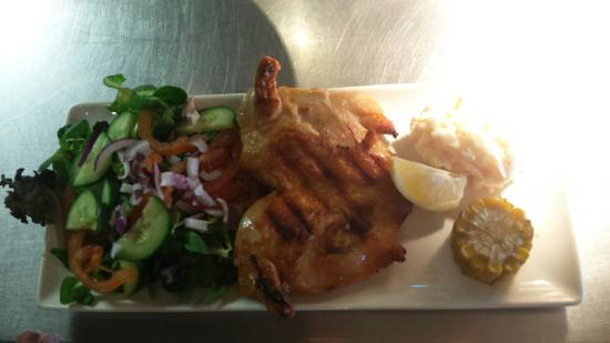 Beefeater Burton on Trent: cod and chips and double pri pri chicken