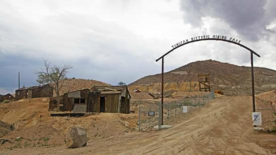 Tonopah Historic Mining Park Entrance