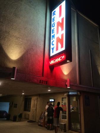 Regency Inn Los Angeles: Recepção