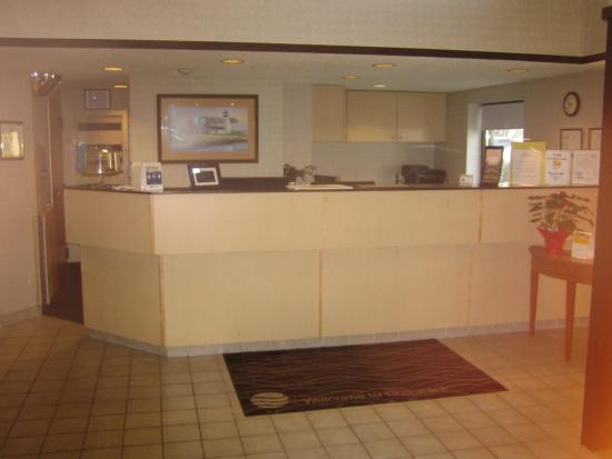 Comfort Inn: Reception