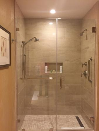 Two Head Shower Stall King Suite 105 Picture Of