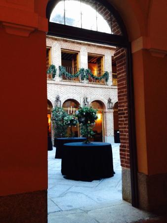 El Antiguo Convento: patio interior cubierto fantastico
