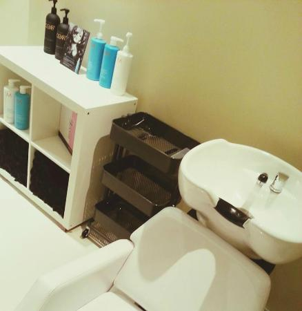 Salon area picture of sana spa calgary tripadvisor for About u salon calgary