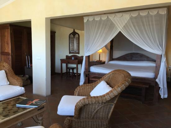 Hotel Manapany Cottages & Spa: la stanza