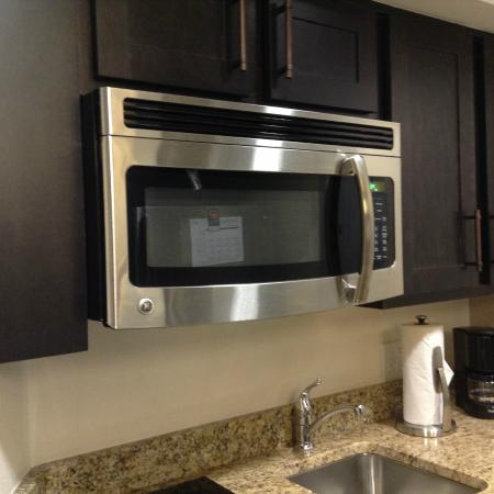 Homewood Suites by Hilton Tucson/St. Philip's Plaza University: 電子レンジ!
