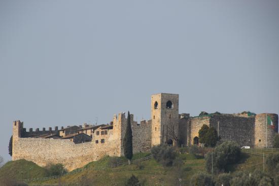Padenghe sul Garda, Italie : Veduta del Castello