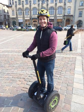 Segway Tours Krakow: Mastering the Segway