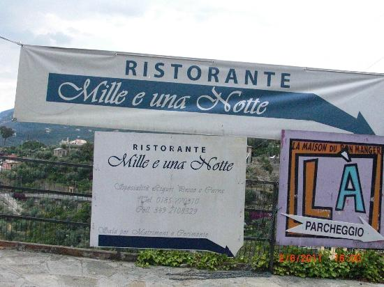 Ristorante Mille e Una Notte em Camogli- Liguria