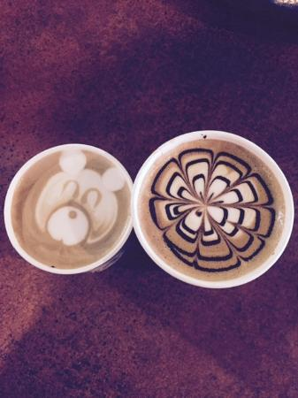 5th and Elm: Talented Barista!