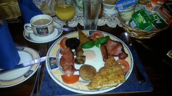 Lynden Bed & Breakfast: irish breakfast