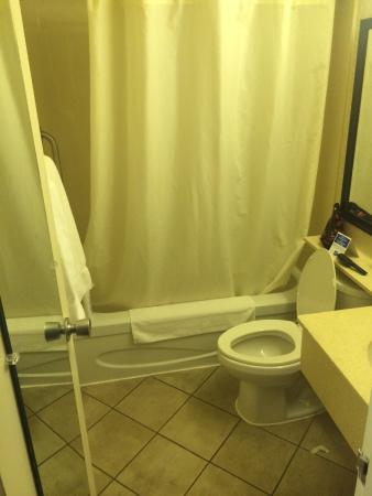 Comfort Inn Toronto North: Bathroom, room 207