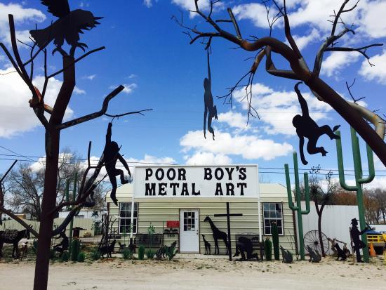 Tatum, NM: Poor Boys Metal Art