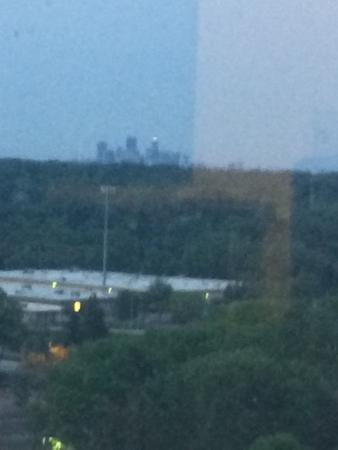 Minneapolis Marriott Southwest : View from our 11th floor room.