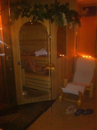 L'alloggio dei Vassalli & Wellness Centre: Sauna