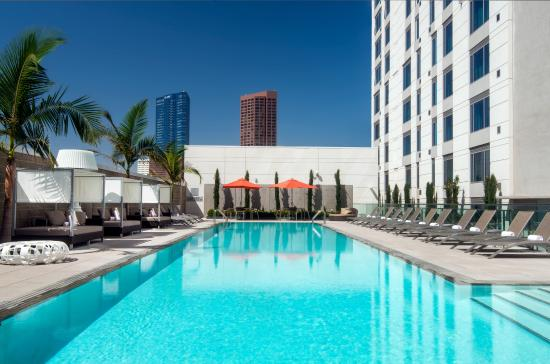 Courtyard Los Angeles L.A. LIVE: Outdoor Pool