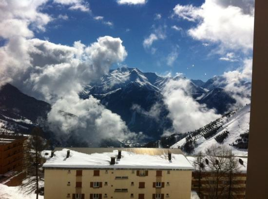 Hotel Le Petit Prince : the view from our balcony