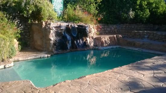 Montagu Guano Cave Resort : pool and picnic/braai area