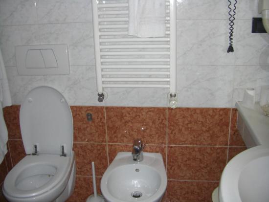 Amadeus Hotel: Bagno