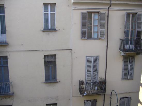 Amadeus Hotel: Vista dalla stanza 303