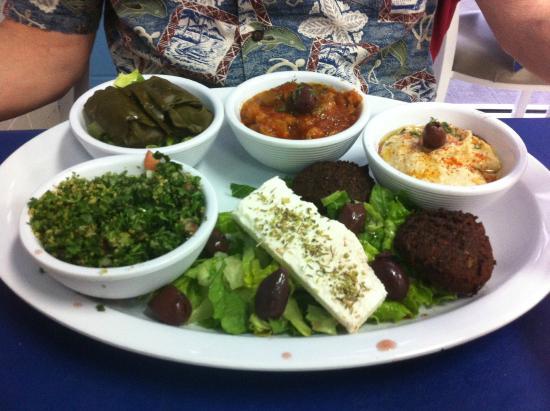 ZINO'S Greek Restaurant: Veggie Tour