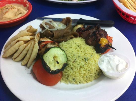 ZINO'S Greek Restaurant: Meat Lover's Entree