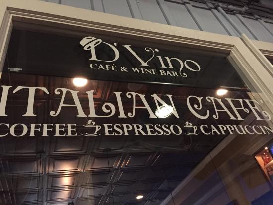 D'Vino Wine Bar & Cafe: Good Italian