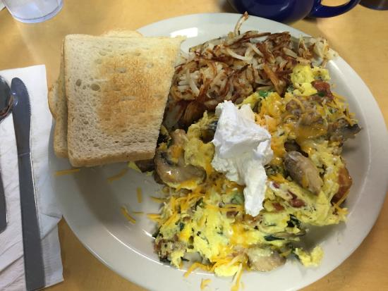 Scrambled Eggs Hashbrowns Yum Picture Of Cafe Lago Lakeway