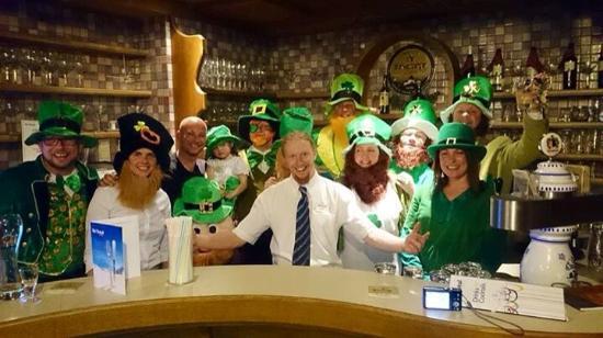 Hotel Hermann : St. Patricks day 2015